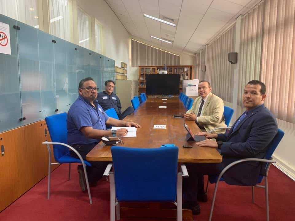 Parlamentario Rocco Tjon (MEP): Un reunion fructifero cu SIWA riba entre otro LNG