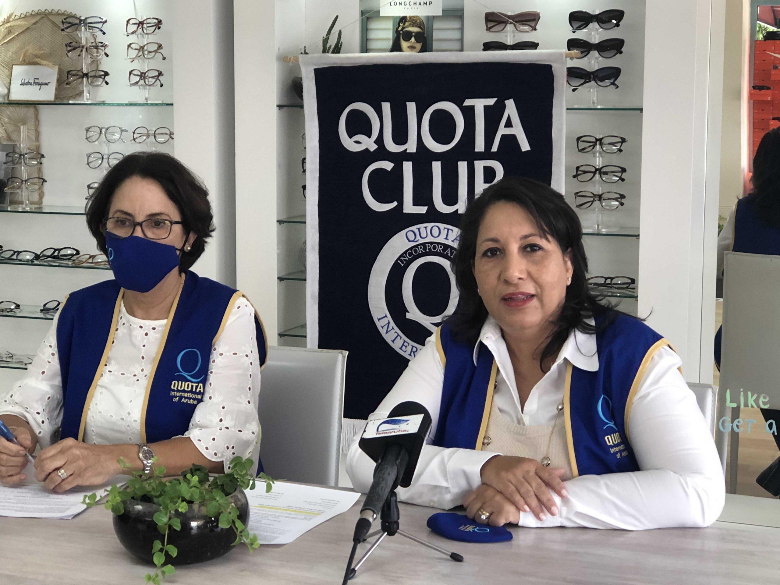 Quota International of Aruba; Ocasion: Comunica cu lo tin un siman cu pueblo di Aruba por haci test di oido gratis.