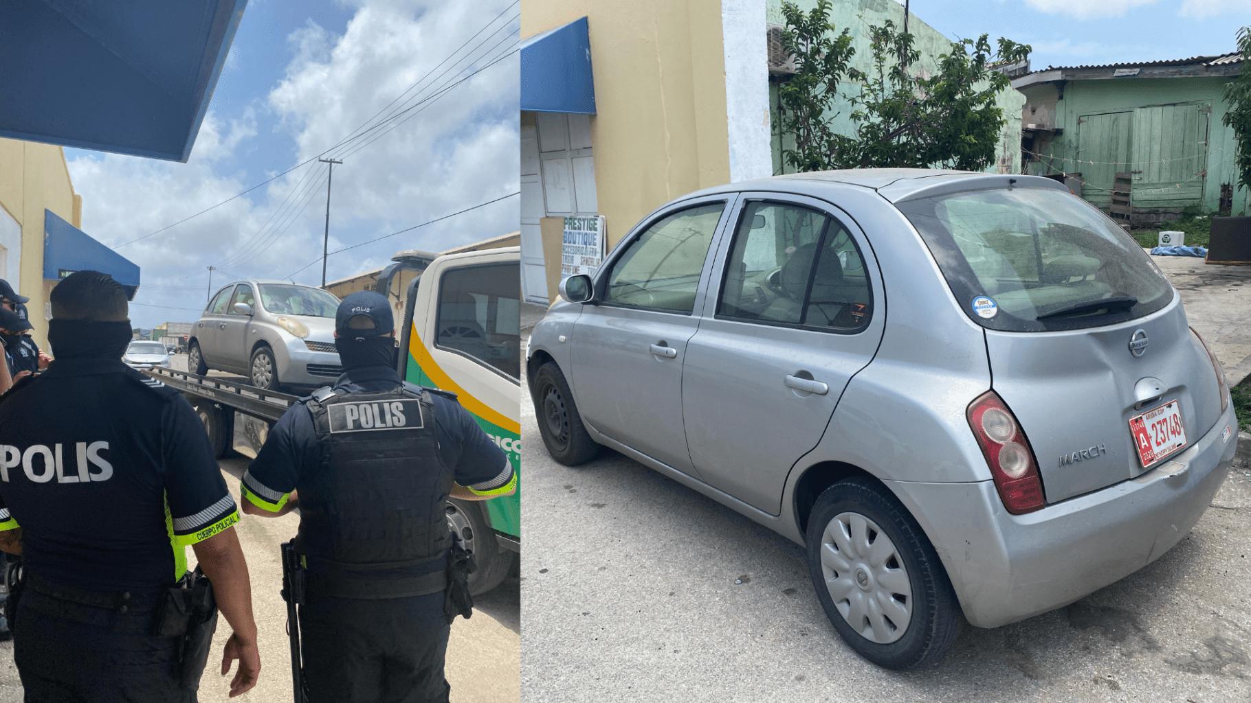 Den caso di asesinato na Brazil: Recherche a confisca auto na cas di sospechoso