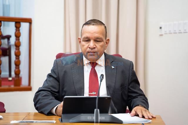 Parlamentario Endy Croes: Keho oficial contra Mike Eman entrega na juni 2020