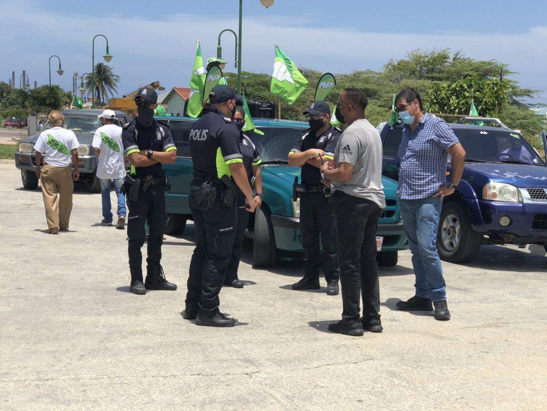 AVP cu parada ilegal na San Nicolas