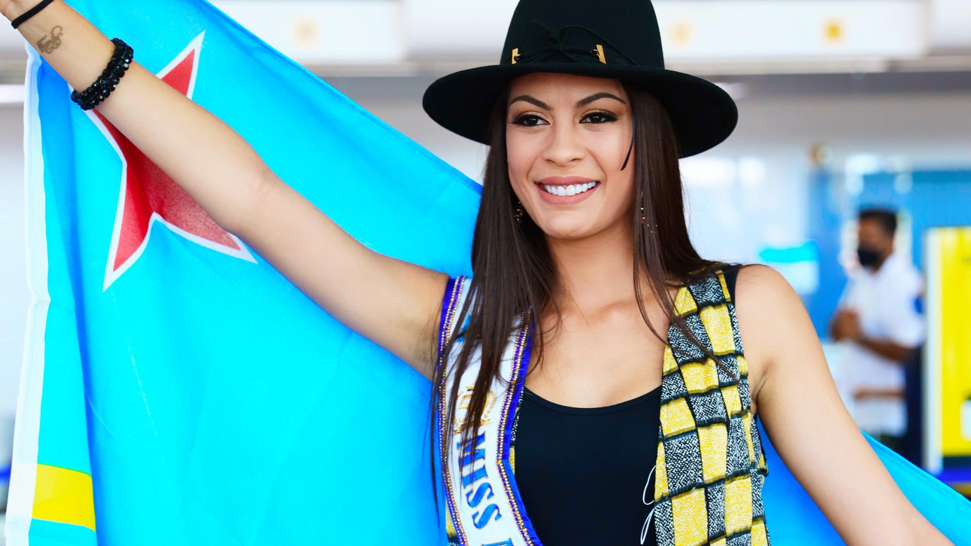 Miss Aruba na caminda pa certamen di Miss Universe 2021 na Florida