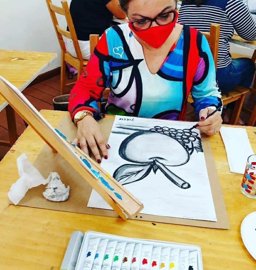 Lesnan di pintamento pa hoben y adulto na Cosecha