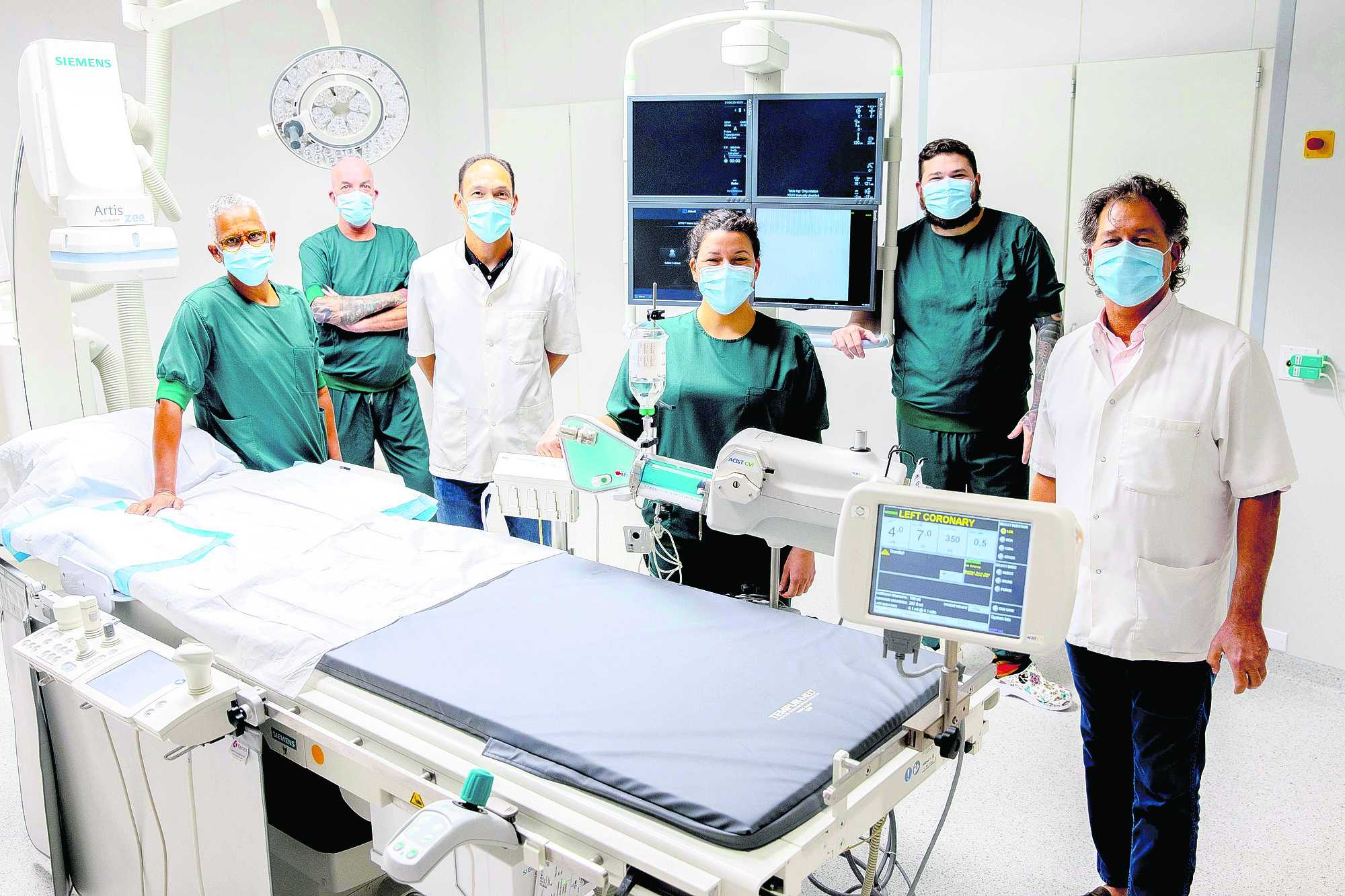 Tres aña pasa a start cu intervencion di cardiologia na HOH; Den menos di 90 minuut ta habri ader despues di ataca di curason
