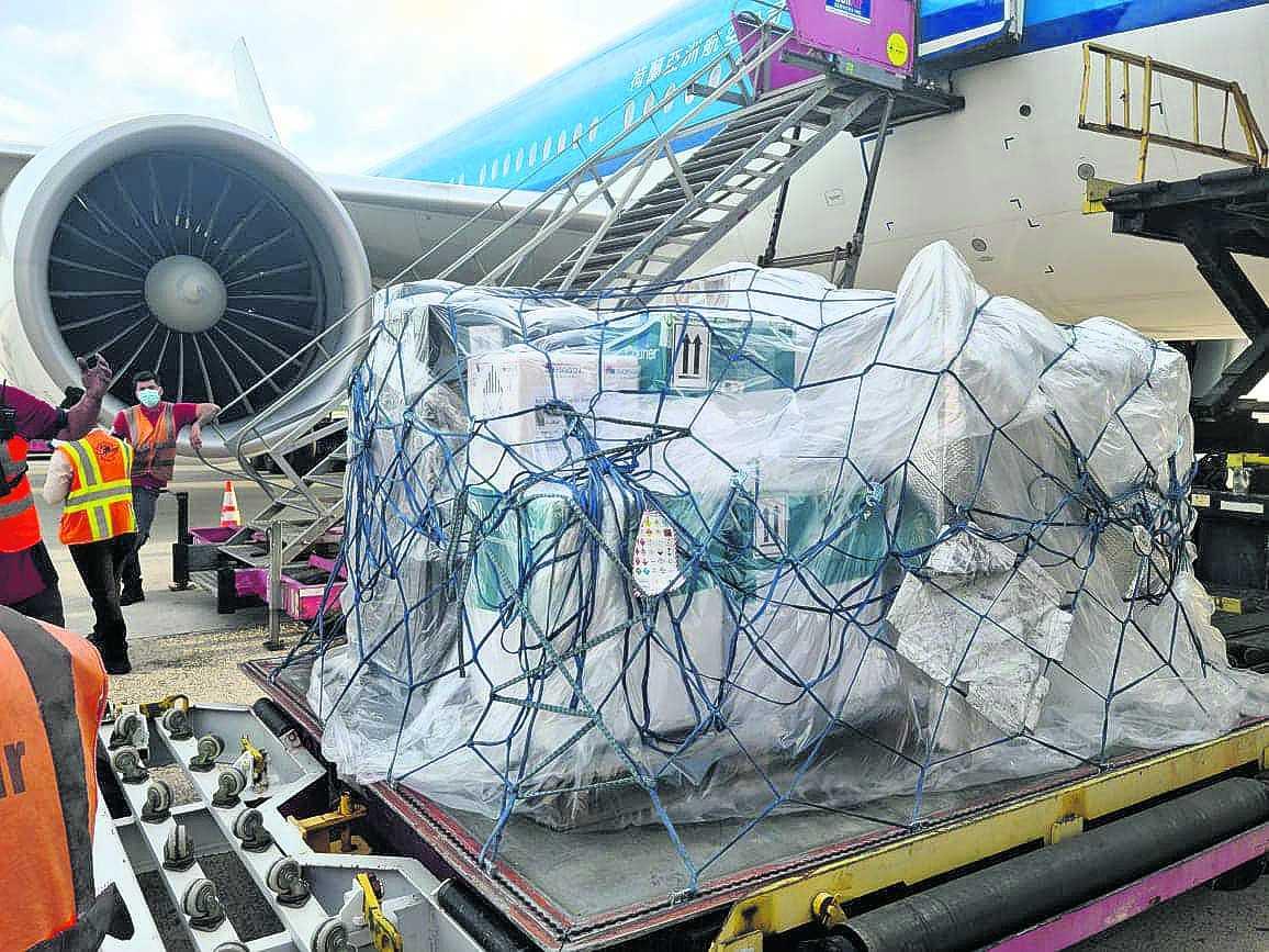 Aruba a haya otro cargamento di 35 mil vacuna Pfizer