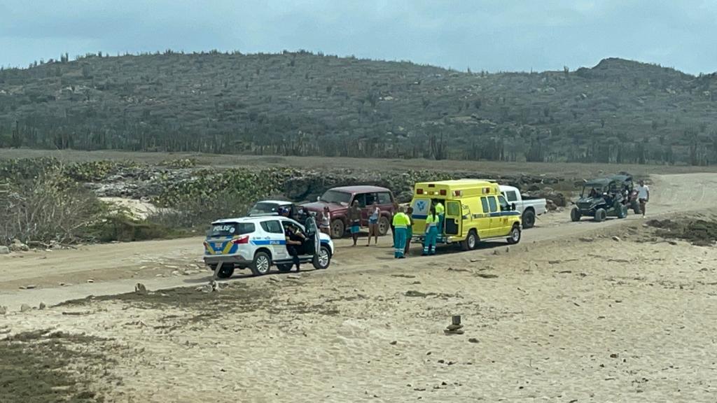 Local herida durante offroad cu UTV