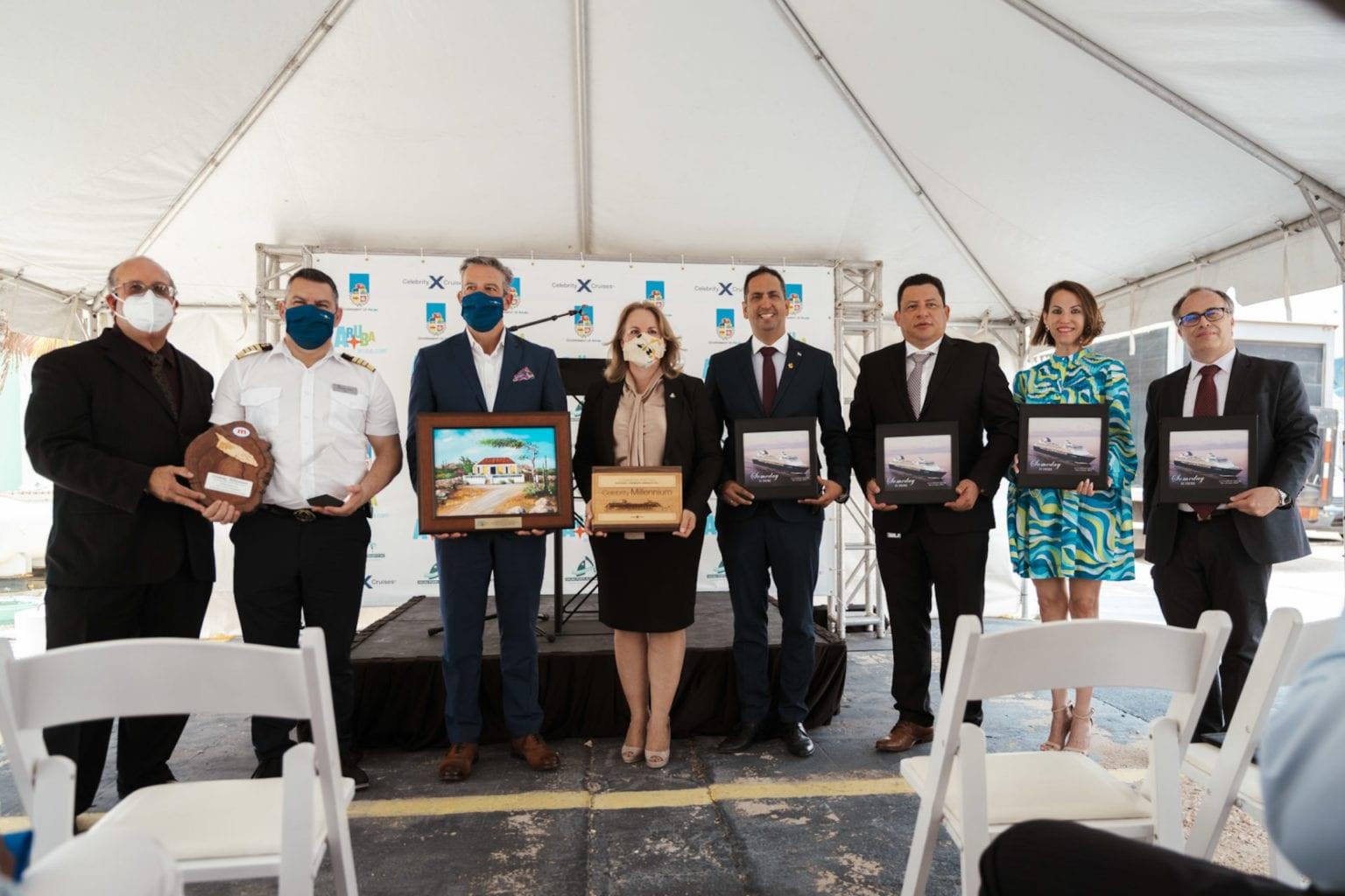 ATA: Contento cu Aruba a forma parti di e reinicio di turismo crucero