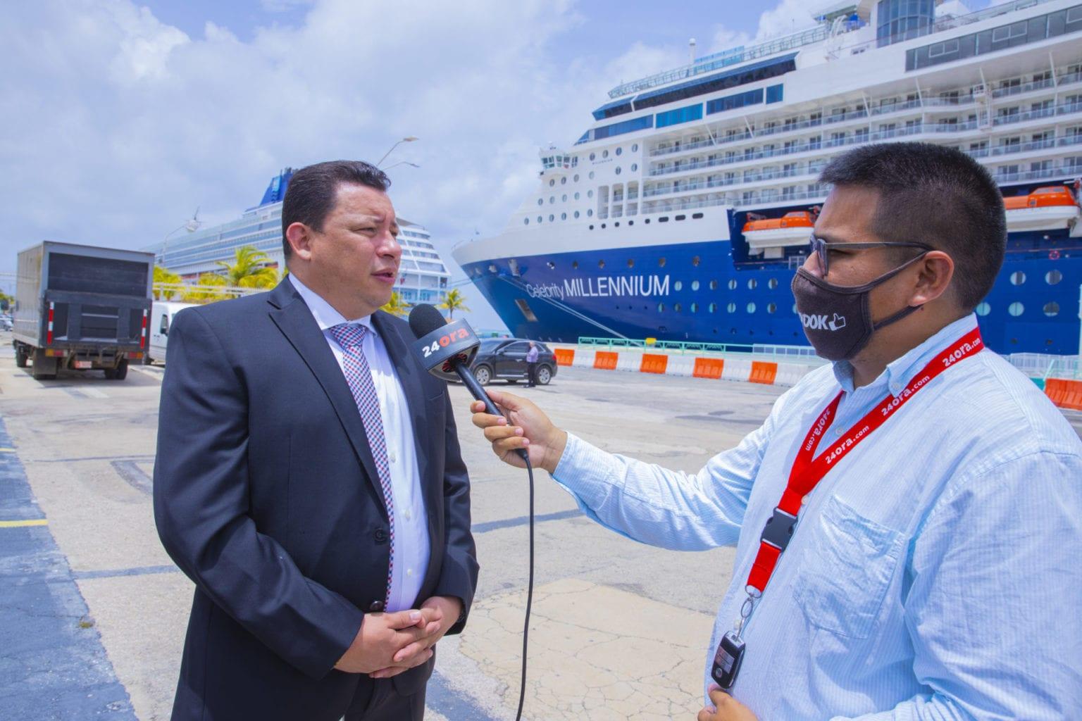 Marc Figaroa: Industria crucero a demostra su importancia pa nos economia