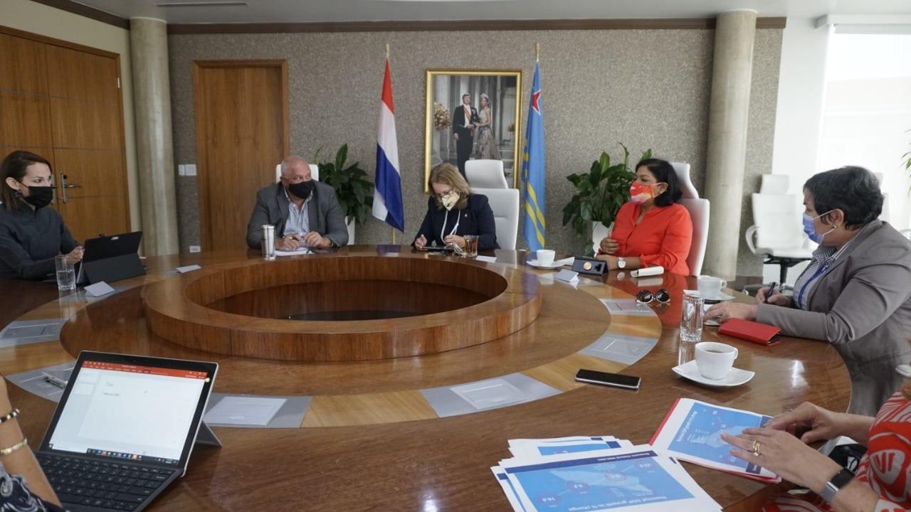 Xiomara Maduro: Aruba ta recuperando poco poco di e crisis economico causa pa COVID19