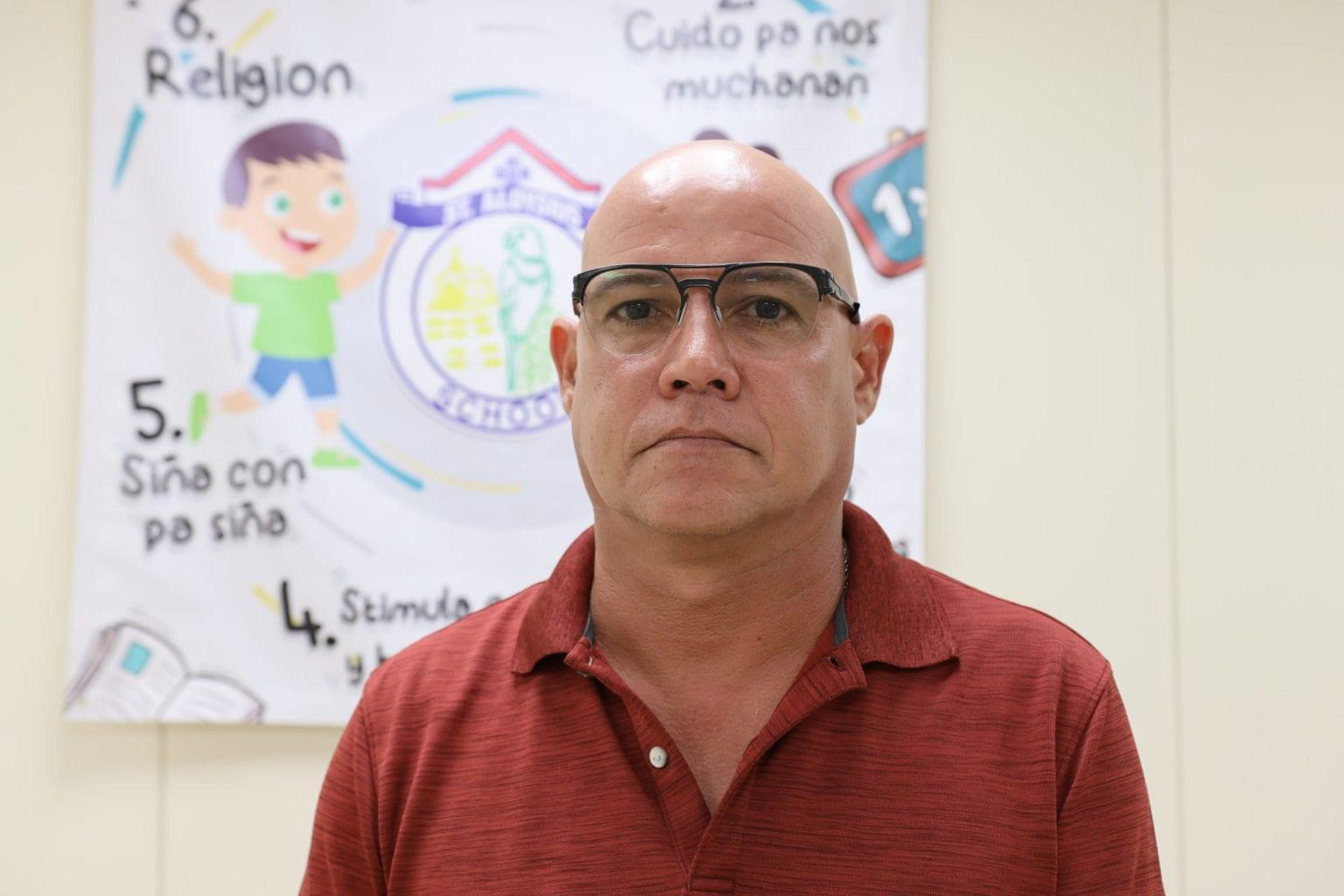Vladimir de Cuba: No ta sigur cu St. Aloysius School lo muda bek pa Noord