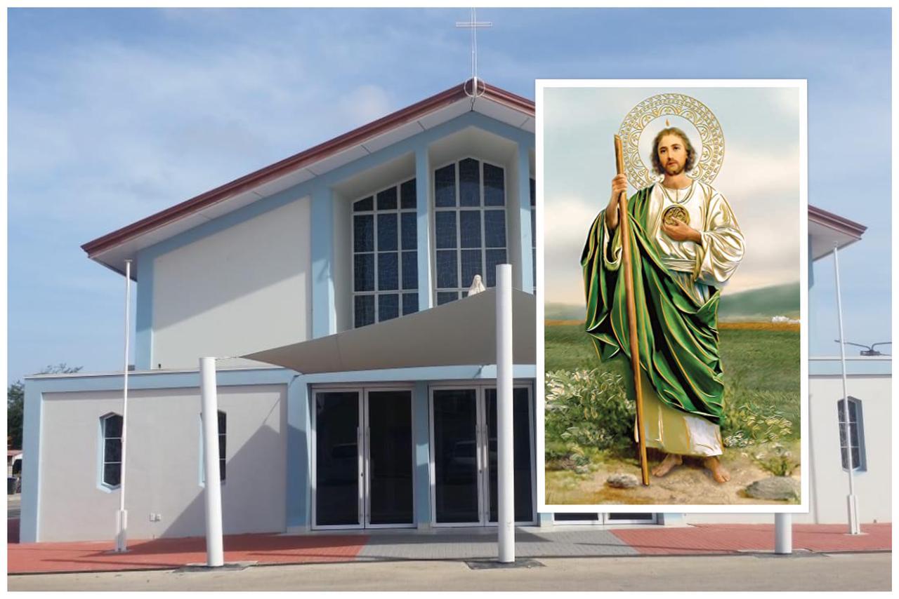 Grupo San Hudas Tadeo Peregrino di Parokia di Birgen di Fatima lo resa triduo pa 4 dia
