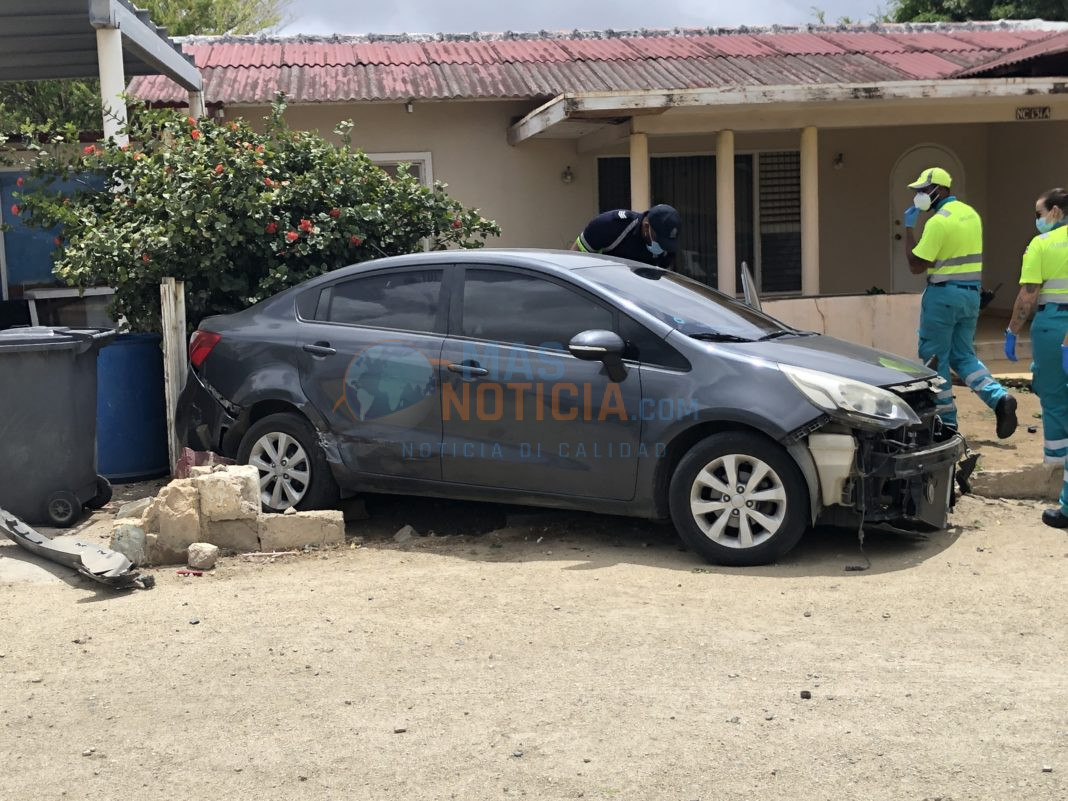 Accidente cu herido na Cura Cabay