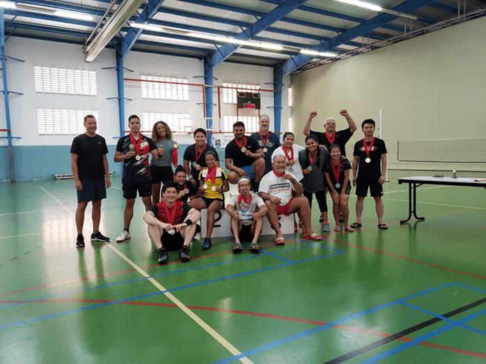 Resultado di campeonato nacional 2021 di Badminton