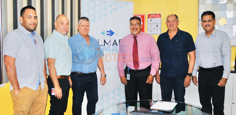 N.V. ELMAR ta sera acuerdo cu BOHAMA N.V. pa construccion di un 60 kV Onderstation nobo na Sabana Blanco