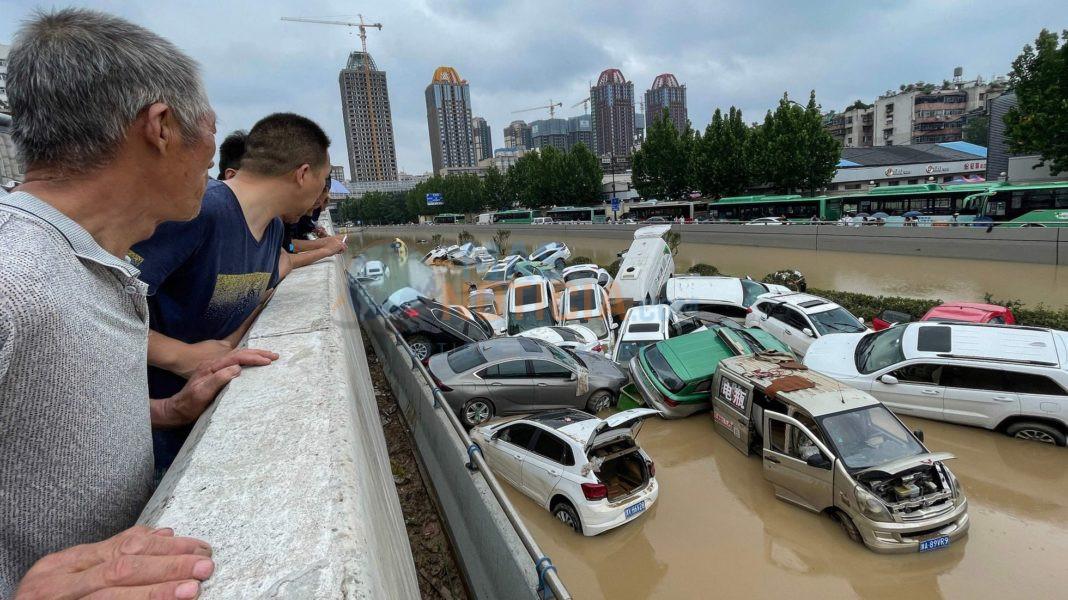 Inundacion na China a causa mas cu 25 morto caba
