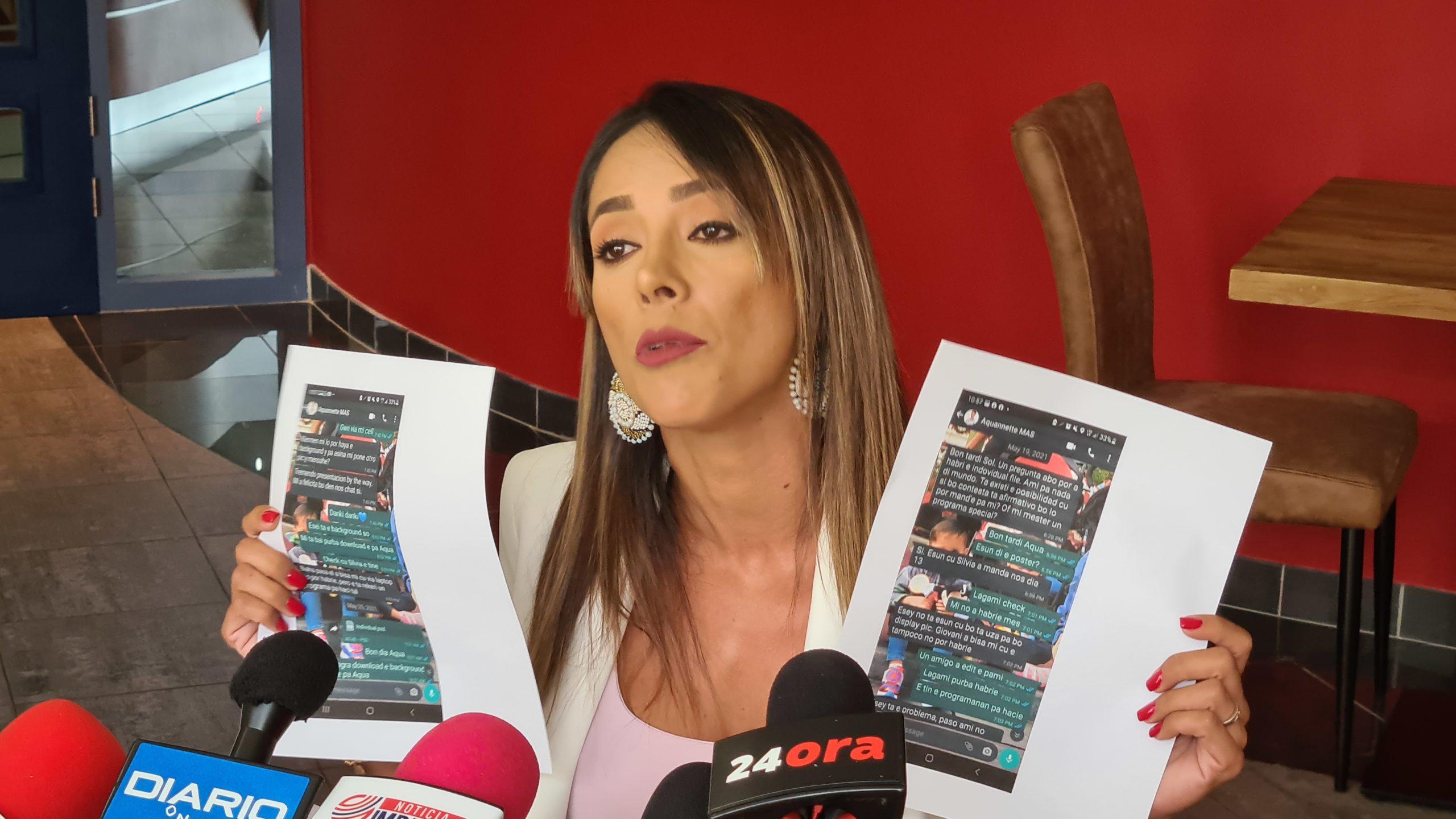 """Solangel Dinmohamed-Lacle: """"Ma wordo uza y gaña durante henter campaña politico"""""""