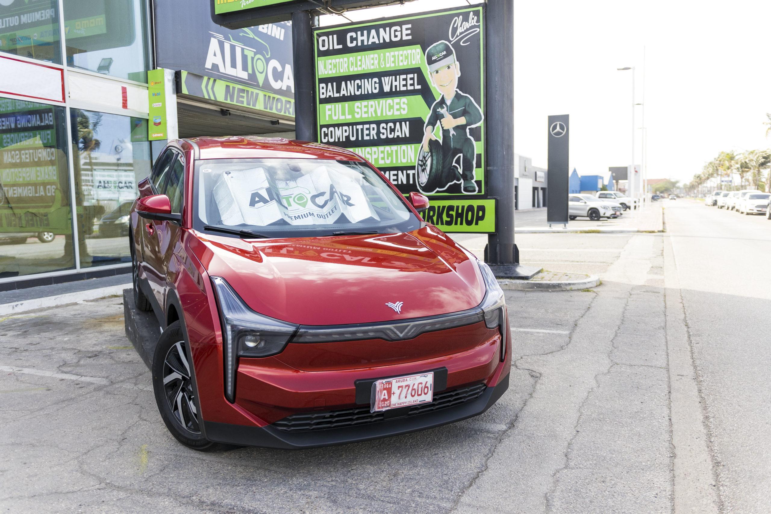 Spaar hopi: Pasa na All-to-Car pa busca bo vehiculo electrico