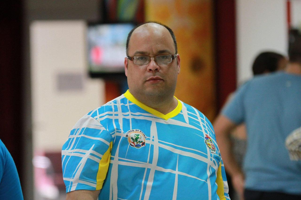 Randolf Lacle awor na cabes di Arubaanse Voetbal Bond