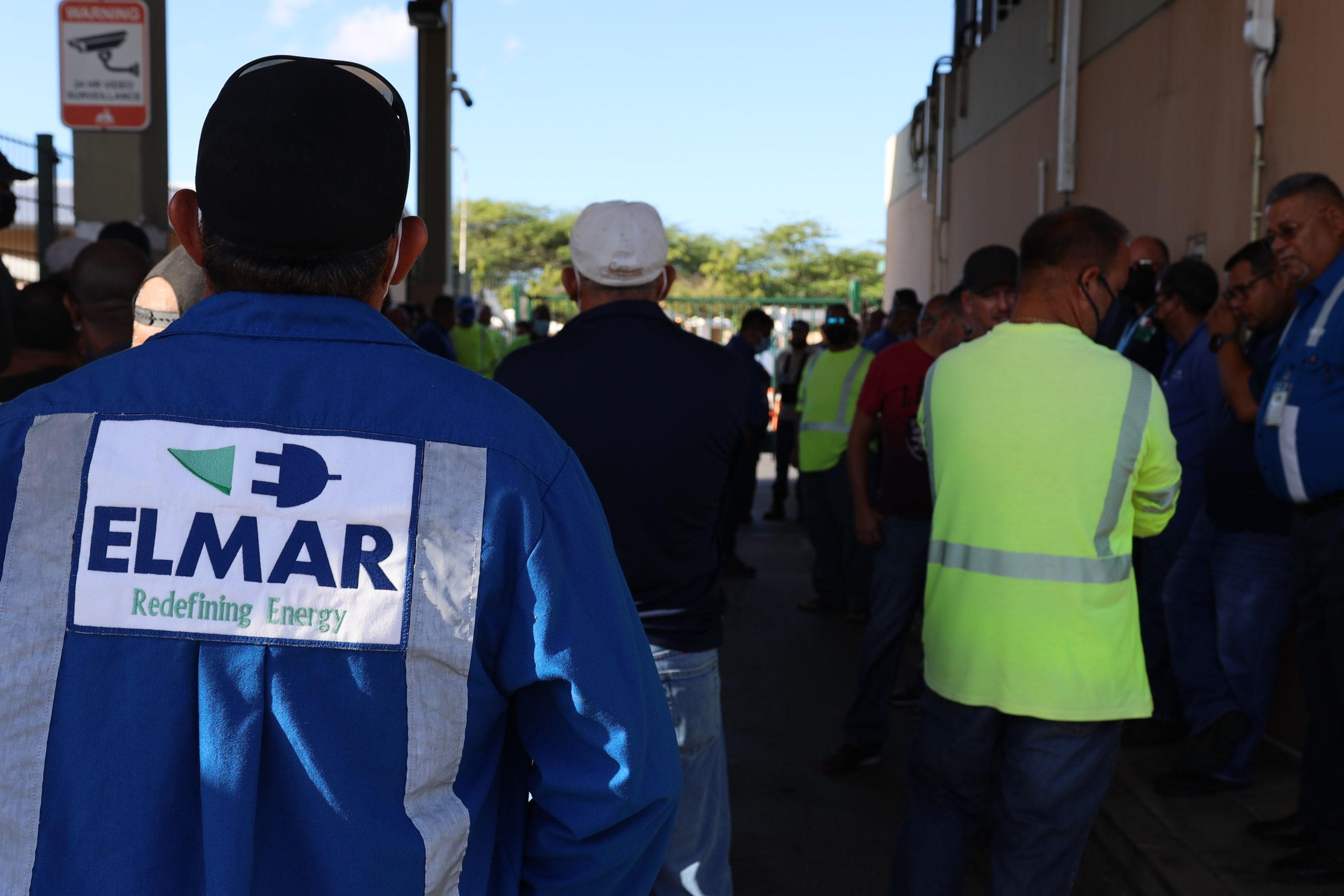 Walkout na Elmar por desemboca den accion si gobierno no recapacita