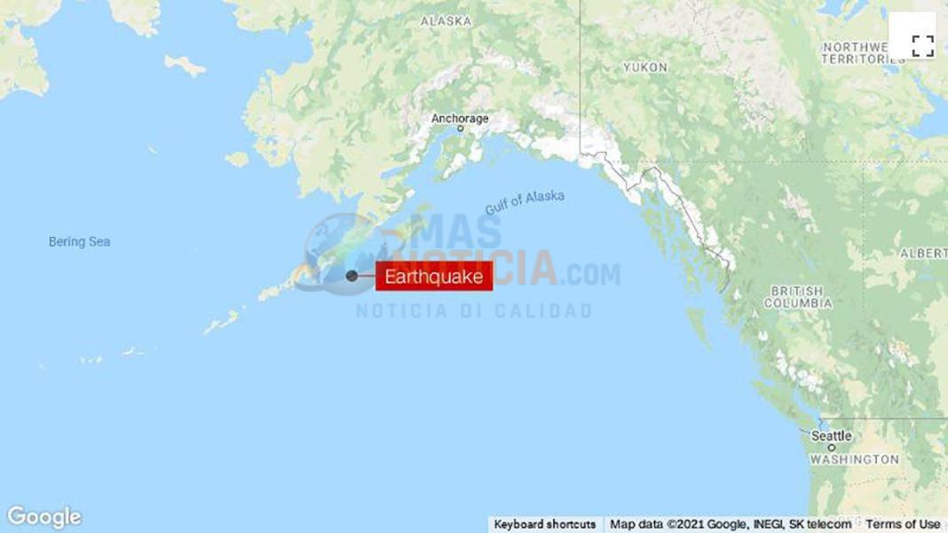 Temblor di 8.2 grado na Alaska