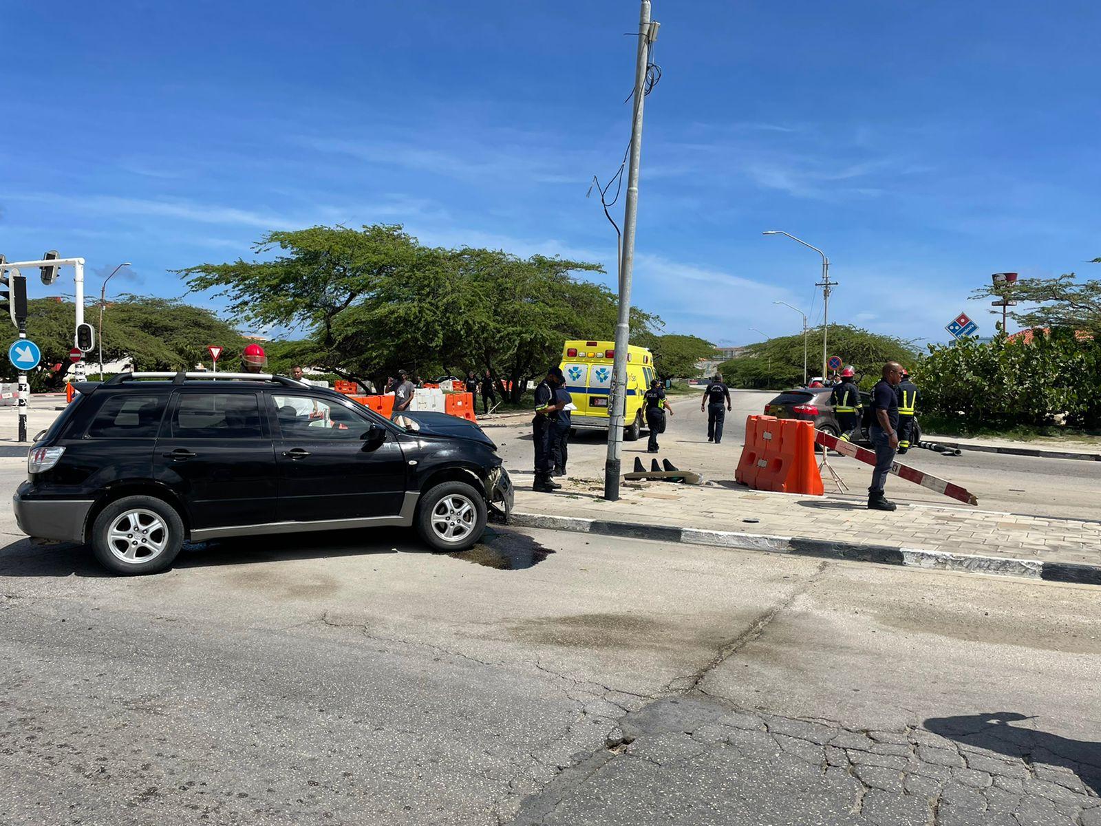 Mas herido: Otro accidente na e famoso crusada di Palm Beach