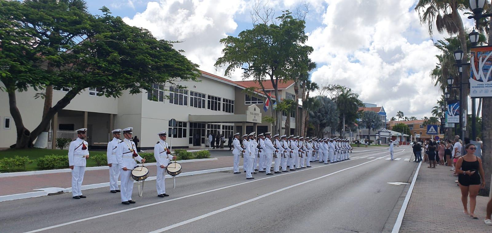 Parada Militar por el inicio de año Parlamentario