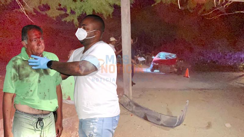 Chauffeur a dal den palo di luz na Rooi Koochi y keda herida