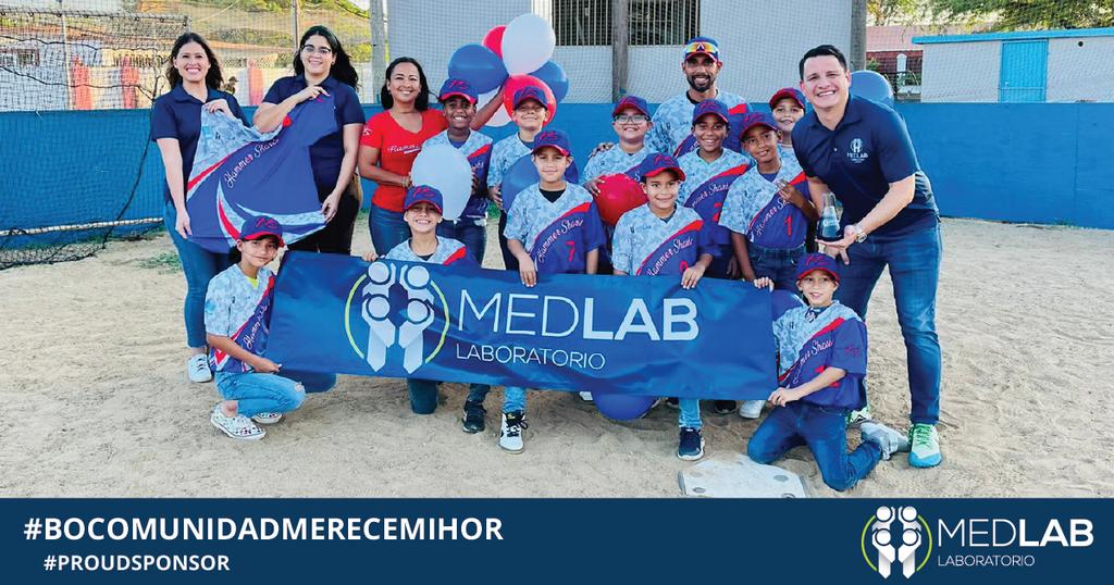 Laboratorio Medlab ta Batisa Uniform di Hammershark Baseball Team U 9/10 temporada 2021/2022