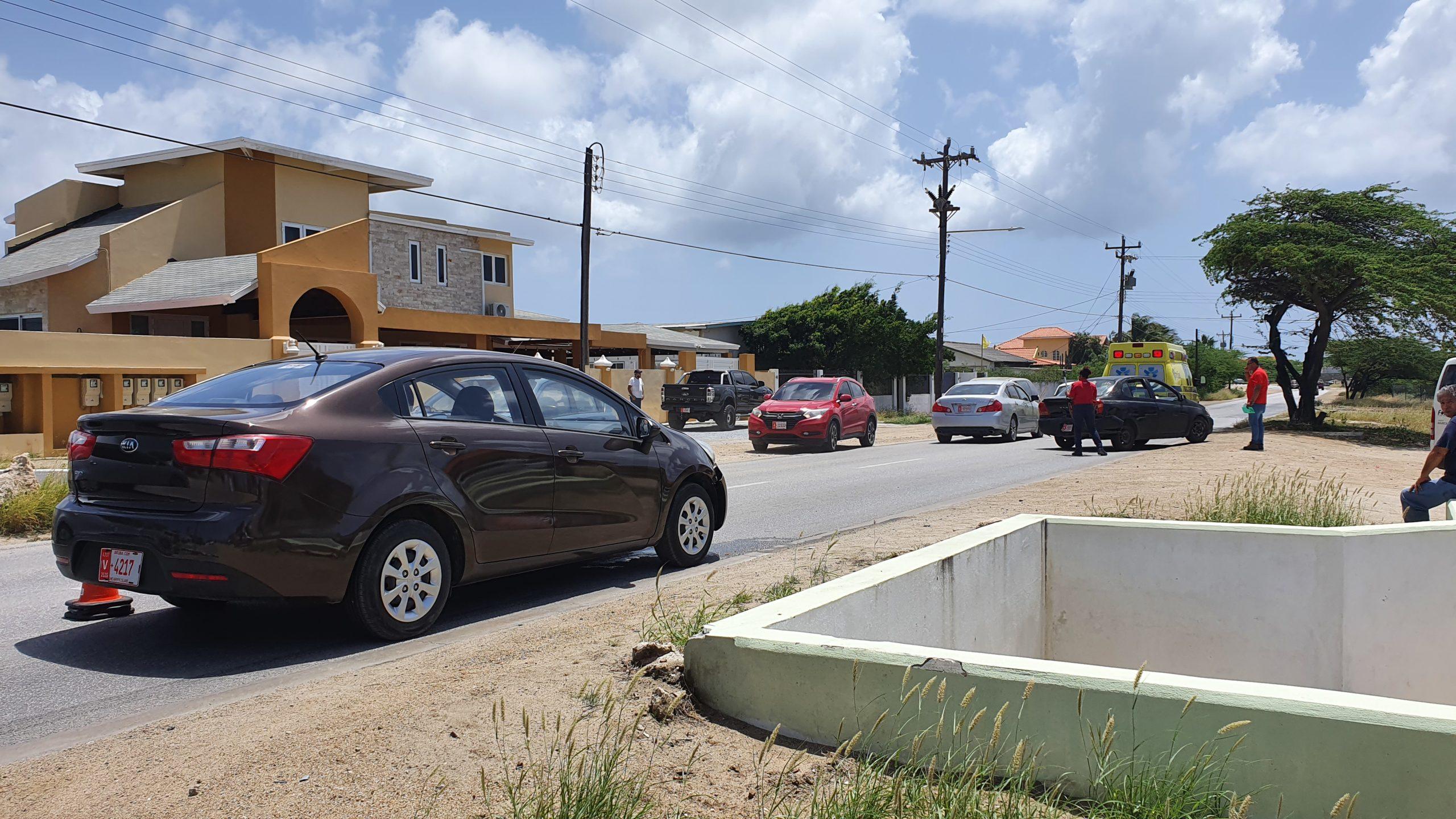 Accidente na San Miguel Noord: No a logra brake na tempo
