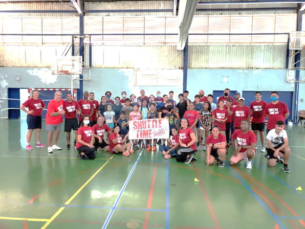 Aruba Badminton Federation contento cu curso pa docentenan