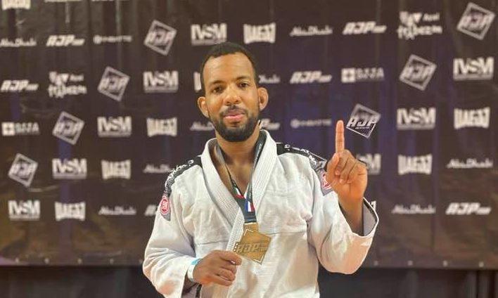 Clifford Edward ta Campeon Nacional di Hulanda den Brazilian Jiu-Jitsu