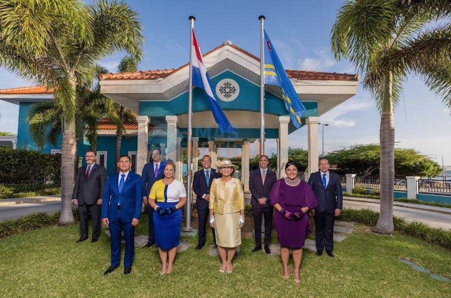 Huramentacion di Gobierno nobo di Aruba