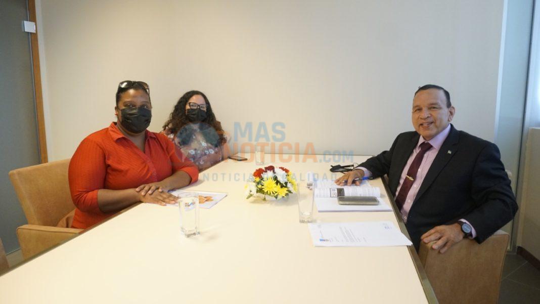 SIMAR: Reunion cu Minister Croes a bay den un bon ambiente
