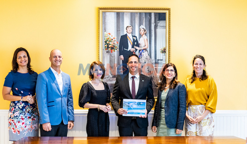 ATA ta haci entrega oficial di presupuesto y plan 2022 na Minister di Turismo