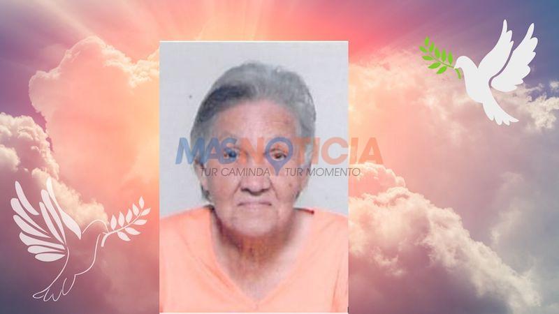 Anuncio di morto: Maria Margarita Dubero