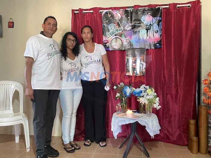 Famia di Luisangel Figueroa ta pidi esun responsabel entrega su mes